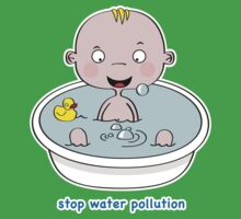 Stop Water Pollution Kids Clothes