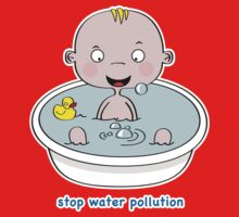 Stop Water Pollution One Piece - Long Sleeve