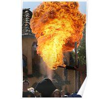 Fire Blower Poster