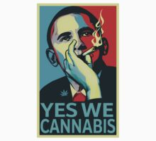 Obama Yes We Cannabis by crazytees