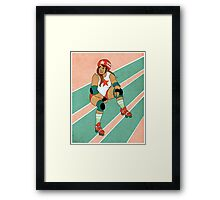 Roller Derby Framed Print
