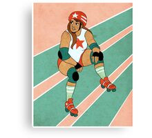 Roller Derby Canvas Print