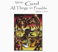 Sampson (With God All things are Possible) by TRUTHMANSHIRTS