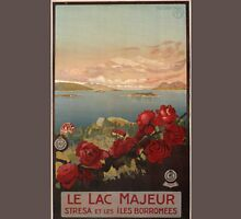 Vintage poster - Le Lac Majeur Unisex T-Shirt