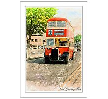 Do You Go Past The Kings Hall Mister? Photographic Print