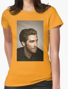 Jake Gyllenhaal: Low-Poly Womens Fitted T-Shirt