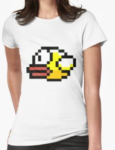Flappy Flip Womens Fitted T-Shirt