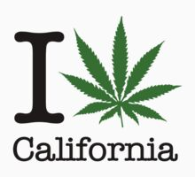 I Marijuana California by crazytees