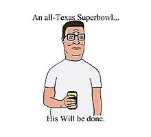 All Texas Superbowl Photographic Print