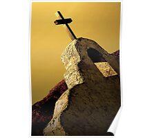 Church on the Rio Grande Poster