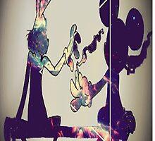 """mickey and bugz"" by GardenOfEden ©"