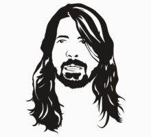 The Face of Dave Grohl by sensimi666