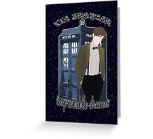 Improbable Dreams Greeting Card
