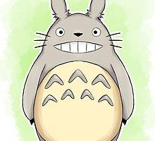 Totoro by Farhana Bashar