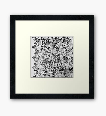 Flight or Fright Framed Print