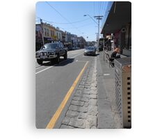 Collingwood Streetscape Canvas Print