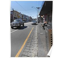 Collingwood Streetscape Poster