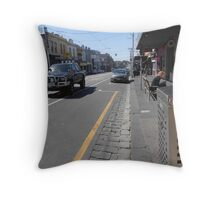 Collingwood Streetscape Throw Pillow