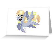 Derpy Greeting Card