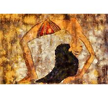 Dancer of ancient Egypt Photographic Print