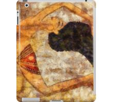 Dancer of ancient Egypt iPad Case/Skin
