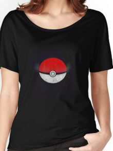 Pokemon Poison Type Pokeball with sleep powder leaking out Women's Relaxed Fit T-Shirt