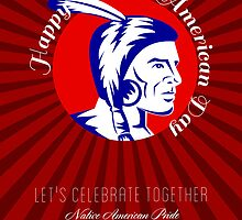 Let Us celebrate together Native American Pride Poster by patrimonio