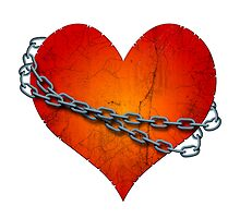 chained heart by siloto