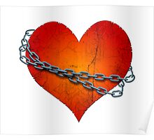 chained heart Poster