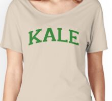 KALE Green Ink Women's Relaxed Fit T-Shirt