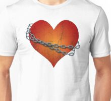 chained heart Unisex T-Shirt