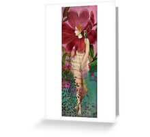 Red Gardens Greeting Card