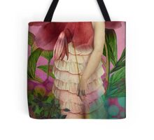 Red Gardens Tote Bag