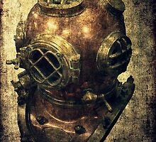 DEEP SEA DIVING HELMET GRUNGE by Daniel-Hagerman