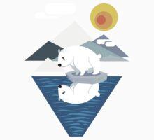Polar Bear Dilemma Kids Tee