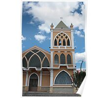 Catholic Church in Ibarra Poster