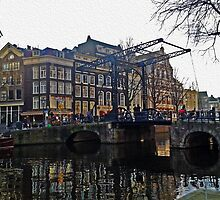 Draw Bridge in Amsterdam by SaraHardman