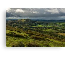 Malvern Hills, England Canvas Print
