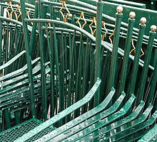 Wet chairs by Arie Koene
