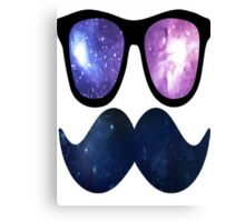Space Hipster Canvas Print