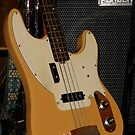 Fender Bass - Close-up by BlueMoonRose