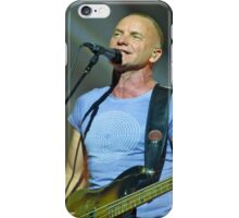 Sting Back to Bass - Toronto November 2011 iPhone Case/Skin
