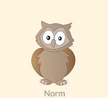 Ody Owl - Norm by JohanPlago