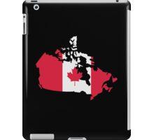 Canada map flag iPad Case/Skin