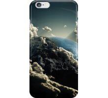 Earth vs Space iPhone Case/Skin