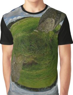 Beltany Stone Circle, Donegal Graphic T-Shirt