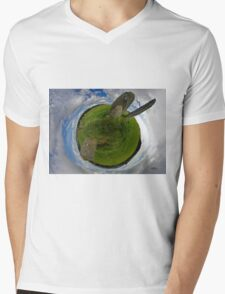 Beltany Stone Circle, Donegal Mens V-Neck T-Shirt