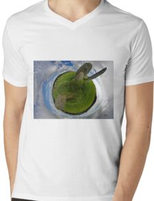 Beltany Stone Circle, Donegal Mens V-Neck T-Shirt