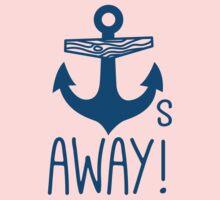 Anchors Away Kids Tee
