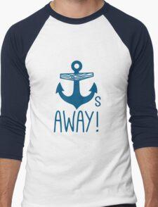 Anchors Away Men's Baseball ¾ T-Shirt